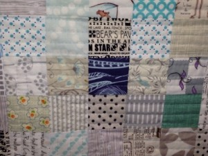 Alys' Low Volume Quilt, so fresh and modern