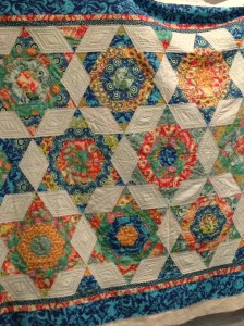 Andreas hand quilted
