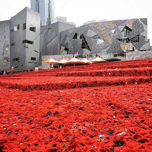 Fed Square ANZAC Day