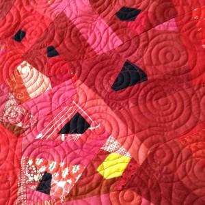 Swirls of poppies