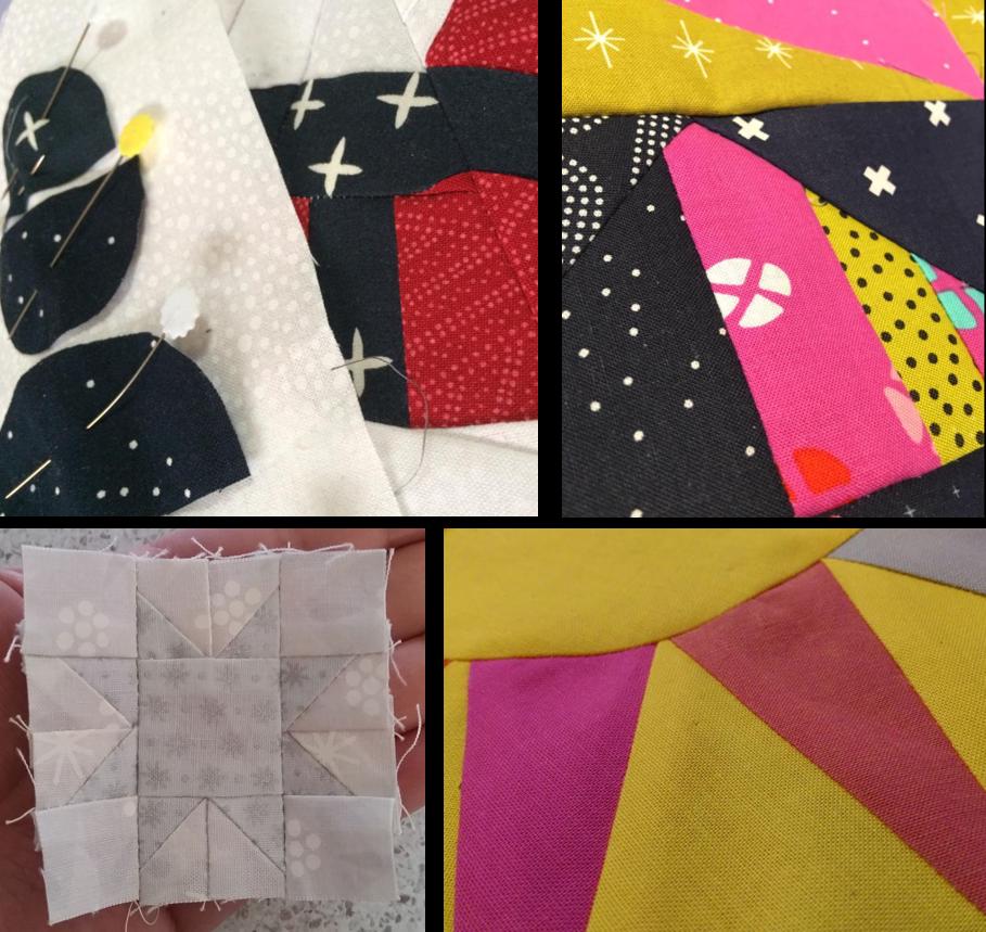 Travelling quilt progress 1