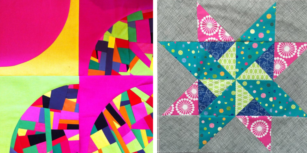 Travelling quilt starting blocks 2