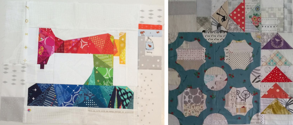 Travelling quilt starting blocks 3